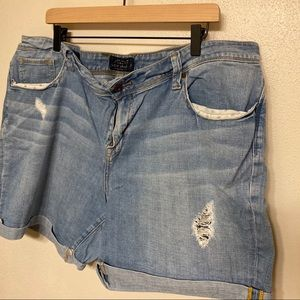 Lucky Brand Distressed Jean Shorts